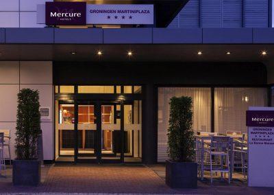 MERCURE HOTEL GRONINGEN MARTINIPLAZA Exterior